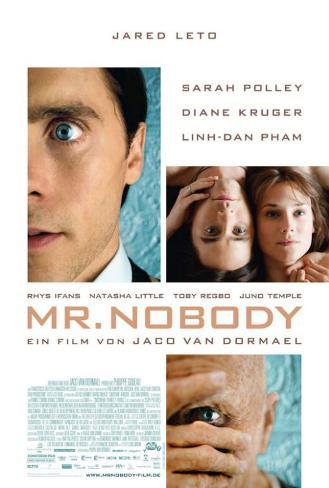 Mr. Nobody - German Style Poster