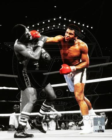 Muhammad Ali Vs. Leon Spinks Las Vegas, NV. 1978 Spotlight Action Photographie