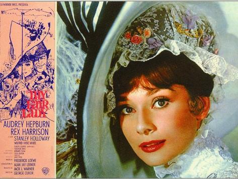 My Fair Lady, Italian Movie Poster, 1964 Reproduction d'art