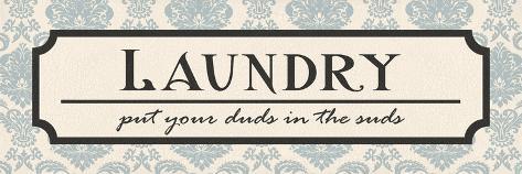 Laundry Suds Reproduction giclée Premium