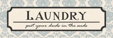 Laundry Suds Reproduction d'art