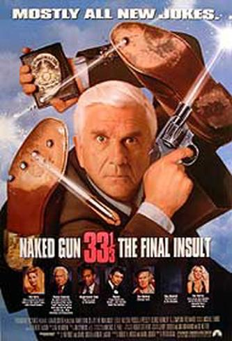 Naked Gun 33 1/3 Affiche double face