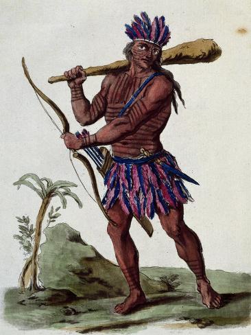 Native of Suriname (Guyana) Reproduction procédé giclée