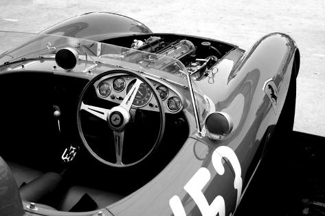 Ferrari Cockpit Photographie