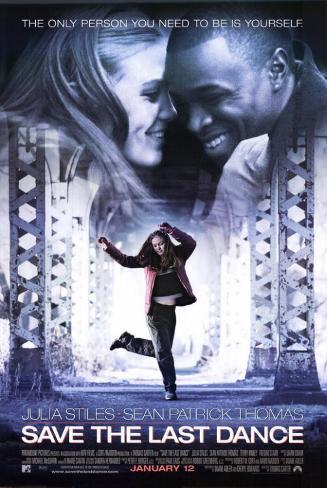 Née pour danser|Save the Last Dance Affiche originale