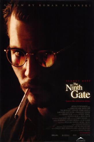 Neuvième porte, La The Ninth Gate Affiche originale