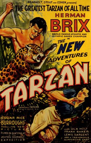 New Adventures of Tarzan Affiche originale