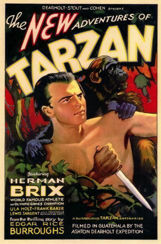 New Adventures of Tarzan Affiche originale