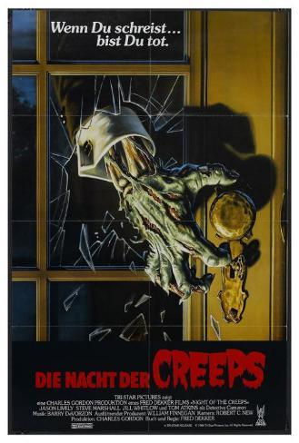 Night of the Creeps - German Style Poster