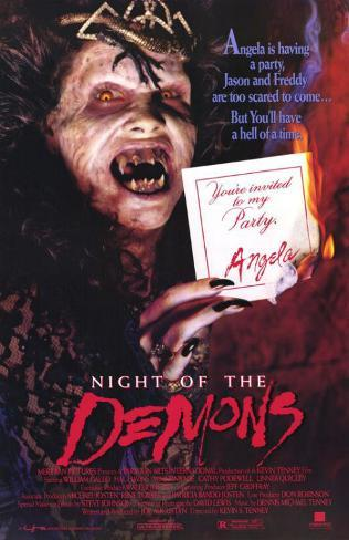 Night of the Demons Affiche originale