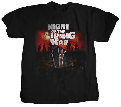Night of the Living Dead - Graveyard T-shirt