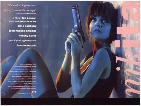 Nikita, film de Luc Besson, 1990 Affiche originale