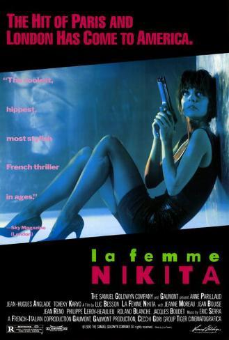Nikita, film de Luc Besson, 1990 Poster