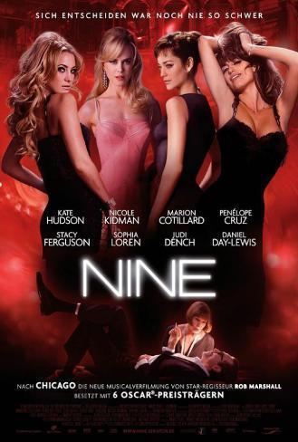 Nine - German Style Poster