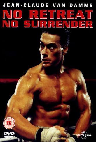No Retreat No Surrender - UK Style Poster