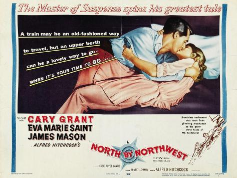 North By Northwest, 1959 Reproduction d'art
