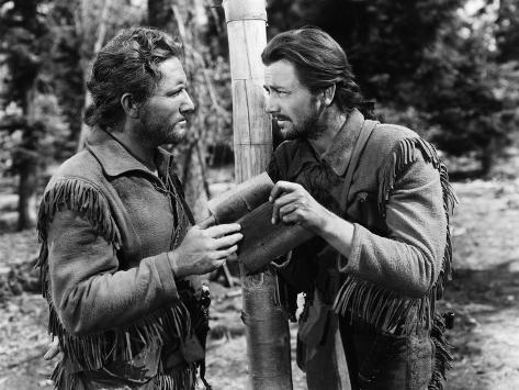 Northwest Passage, Spencer Tracy, Robert Young, 1940 Photographie