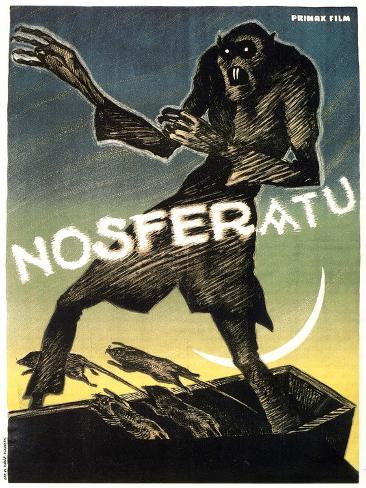 Nosferatu, a Symphony of Horror, 1922 Reproduction d'art