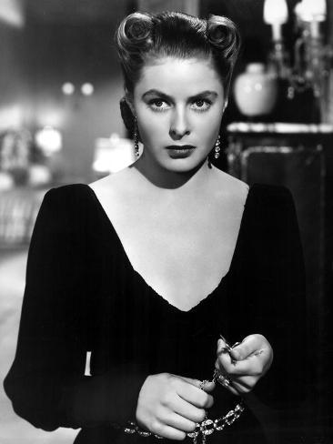 Notorious, Ingrid Bergman, 1946 Photographie