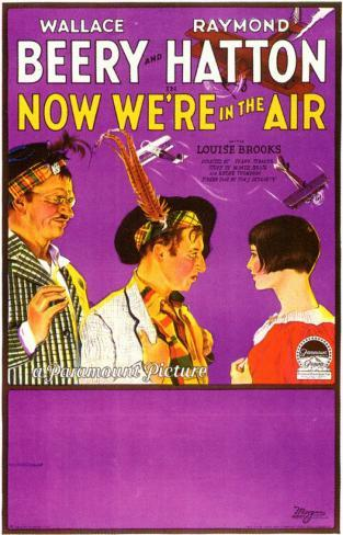 Now We're In The Air Affiche originale
