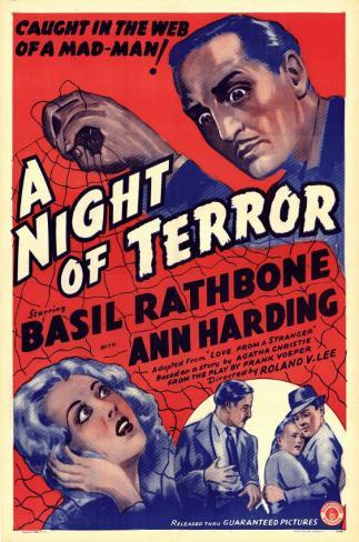 Nuit de terreur Affiche originale