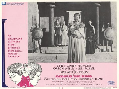 Oedipus the King, 1968 Reproduction giclée Premium