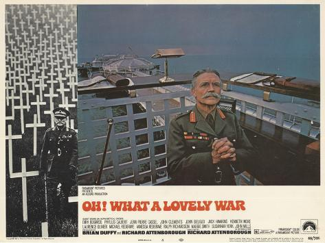 Oh! What a Lovely War, 1969 Reproduction d'art