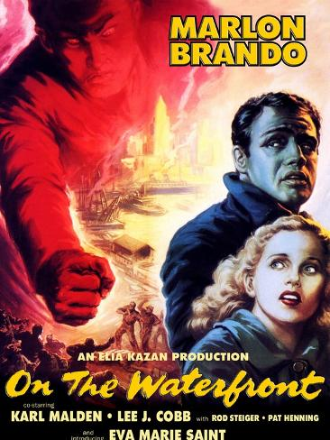 On the Waterfront, 1954 Reproduction d'art