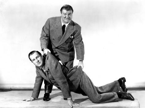 One Night in the Tropics, Bud Abbott and Lou Costello, 1940 Photographie