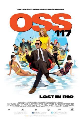 OSS 117 - Lost in Rio Poster