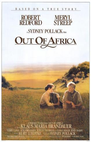 Out of Africa Affiche originale