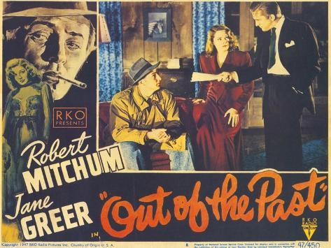 Out of the Past, 1947 Reproduction d'art