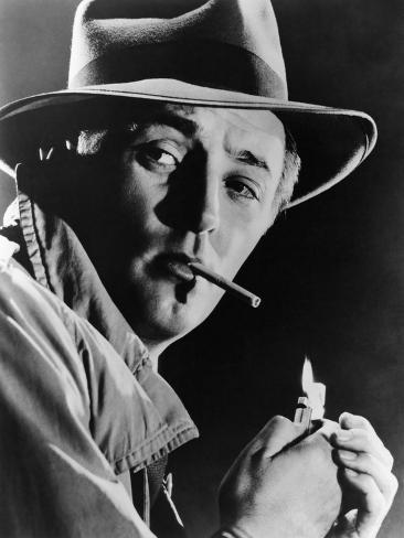Out of the Past, Robert Mitchum, 1947 Photographie