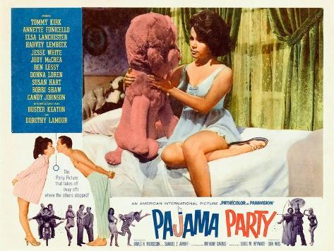 Pajama Party Reproduction d'art