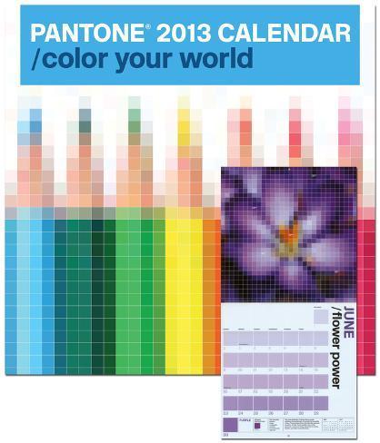 Pantone - 2013 Wall Calendar Calendriers