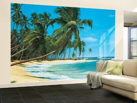 papier peint paysage de plage de mer du sud papier peint. Black Bedroom Furniture Sets. Home Design Ideas