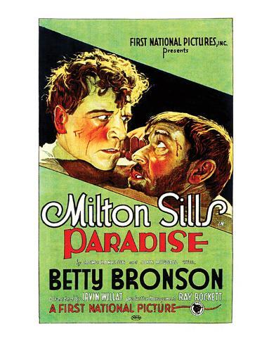 Paradise - 1926 Reproduction procédé giclée