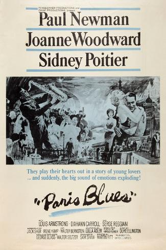 Paris Blues, 1961 Reproduction d'art