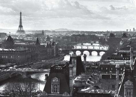 Paris, France Affiche géante