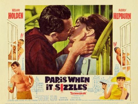 Paris When It Sizzles, 1964 Reproduction d'art