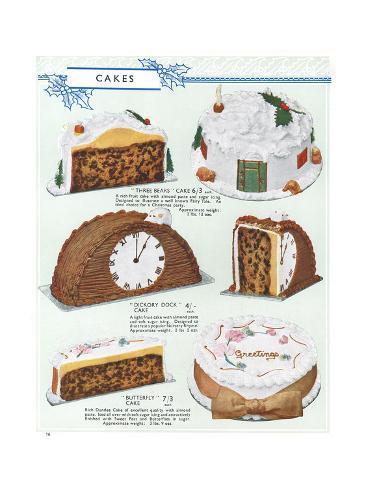 Party Cakes, 1937 Reproduction procédé giclée