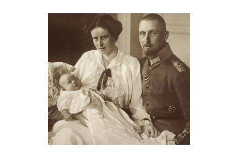 Passepartout Oskar Von Preußen Und Seine Familie Reproduction procédé giclée