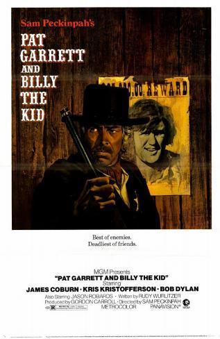 Pat Garrett et Billy the Kid Affiche originale