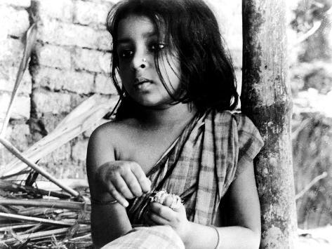 Pather Panchali, Runki Banerjee As Young Durga, 1955 Photographie