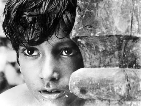 Pather Panchali, Subir Bannerjee, 1955 Photographie