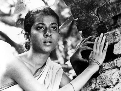 Pather Panchali, Umas Das Gupta As Adolescent Durga, 1955 Photographie