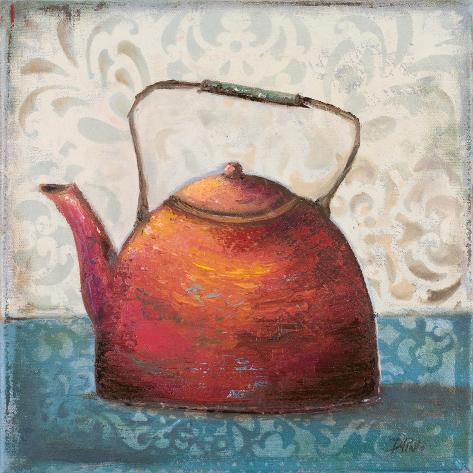 Red Pots I Reproduction giclée Premium
