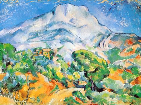 La Montagne St. Victoire Reproduction d'art