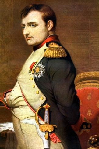 Napoleon Bonaparte, French General and Emperor Reproduction procédé giclée