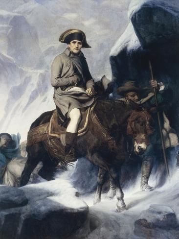 Napoleon Crossing the Alps Reproduction procédé giclée